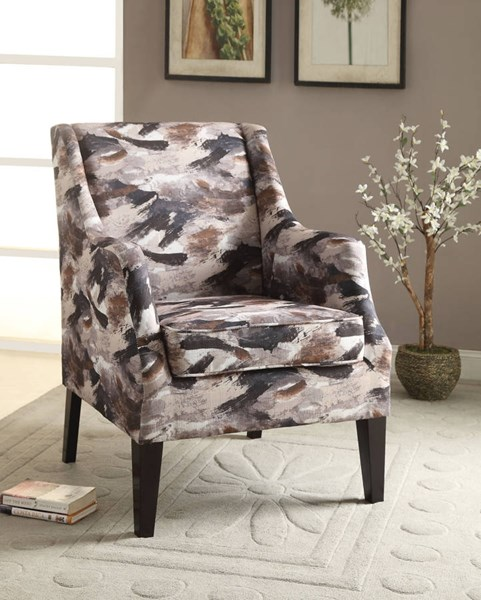 Zarate Contemporary Fabric Tapered Leg Accent Chair ACM-59443