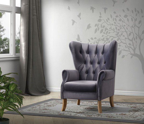Acme Furniture Adonis Gray Accent Chair ACM-59517