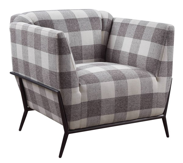 Acme Furniture Niamey II Pattern Fabric Accent Chair ACM-59725