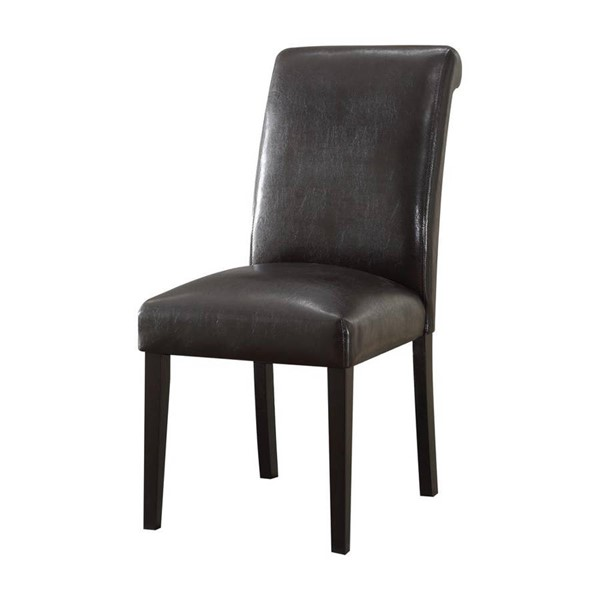 2 Acme Furniture Gregory Espresso Side Chairs ACM-59759