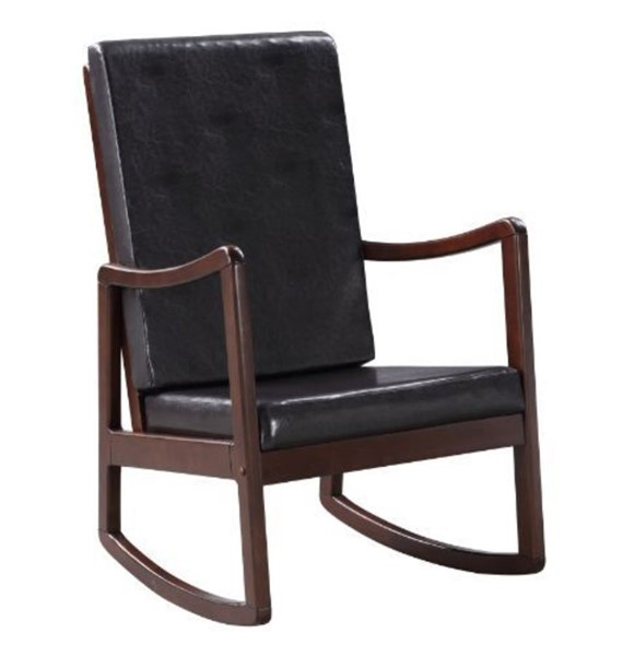 Acme Furniture Raina Dark Brown Rocking Chair ACM-59935