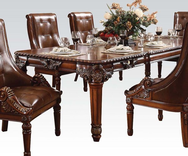 Winfred Elegant Cherry Wood Dining Table ACM-60075