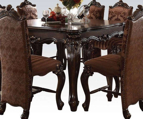 Acme Furniture Versailles Cherry Oak Counter Height Table