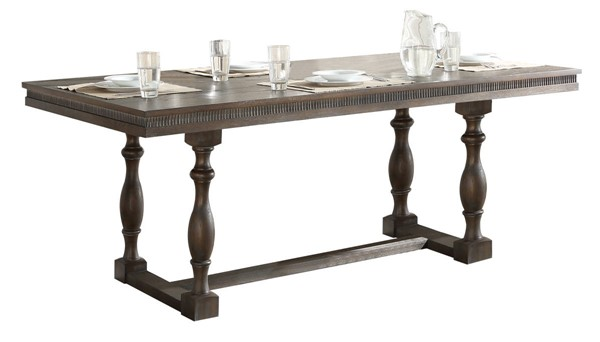 Acme Furniture Leilani Walnut Dining Table ACM-62325