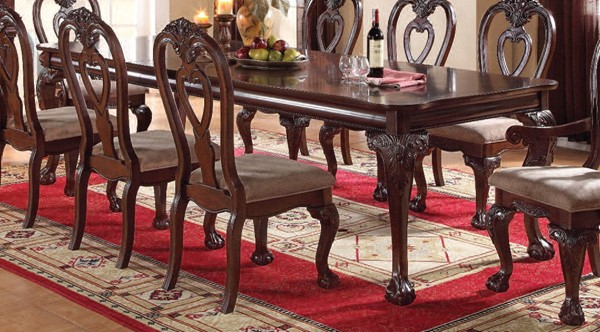 Acme Furniture Gwyneth III Cherry Dining Table ACM-62870