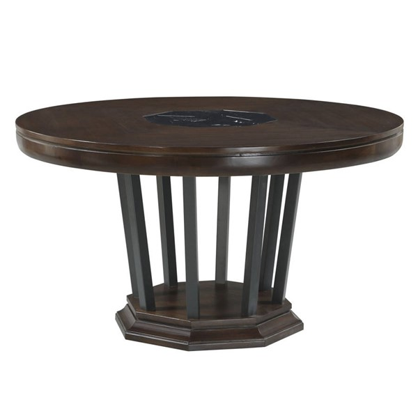 Acme Furniture Selma Tobacco Round Dining Table ACM-64085