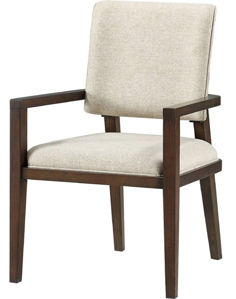 2 Acme Furniture Niamey Walnut Arm Chairs ACM-64853