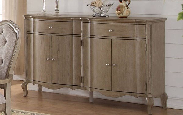 Acme Furniture Chelmsford Antique Taupe Server ACM-66056
