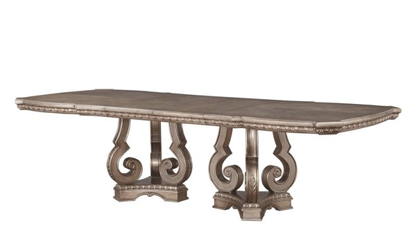 Acme Furniture Northville Antique Champagne Dining Table ACM-66920