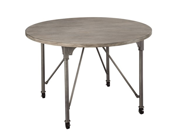 Acme Furniture Jonquil Gray Round Dining Table ACM-70285