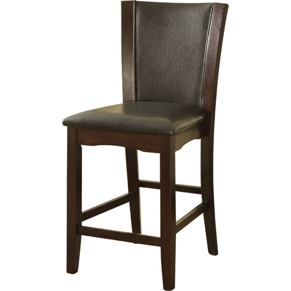 2 Acme Furniture Malik PU Counter Height Chairs ACM-70514