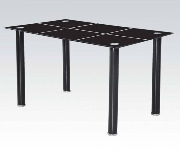 Acme Furniture Riggan Black Rectangle Dining Table ACM-70598
