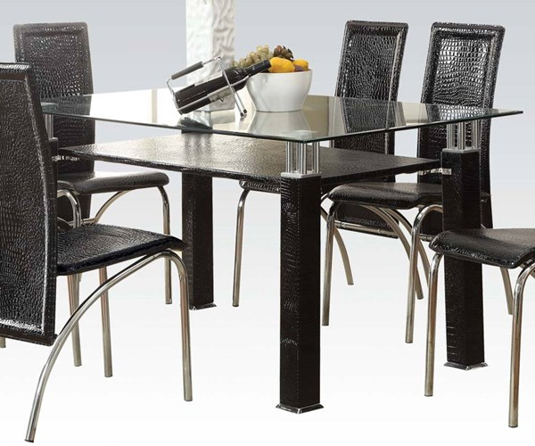 Acme Furniture Toffy Black Dining Table ACM-70722