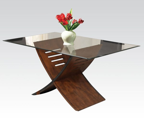 Acme Furniture Trava Cherry Dining Table ACM-70890