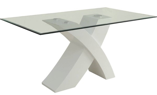 Acme Furniture Pervis White Dining Table ACM-71105
