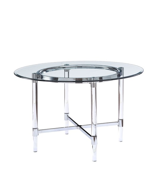 Acme Furniture Daire Clear Dining Table ACM-71180