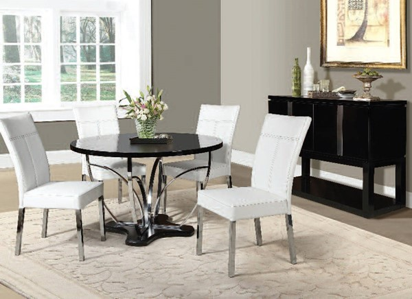 Acme Furniture Danny 5pc Dining Room Set The Classy Home