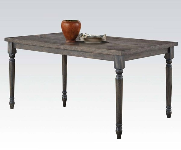 Acme Furniture Wallace Blue Dining Table ACM-71435