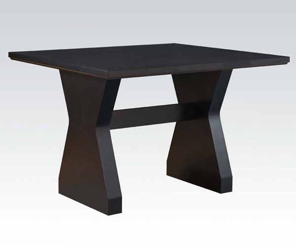 Effie Contemporary Espresso Wood Counter Height Table ACM-71520