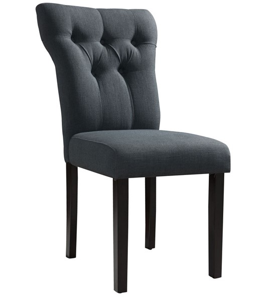 2 Acme Furniture Effie Gray Side Chairs ACM-71524A