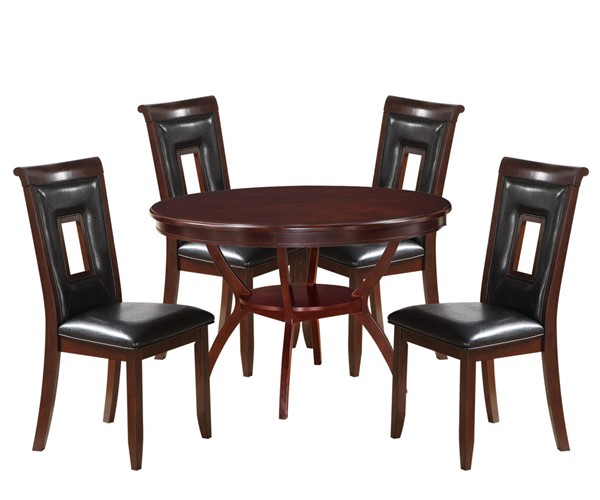 Acme Furniture Oswell Black 5pc Dining Set ACM-71597