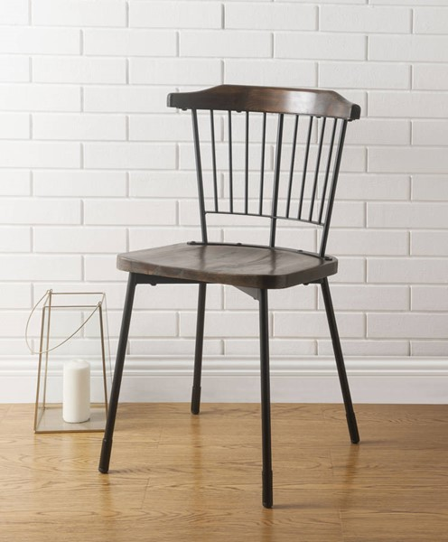 Acme Furniture Orien Side Chairs ACM-7179-DR-CH-VAR