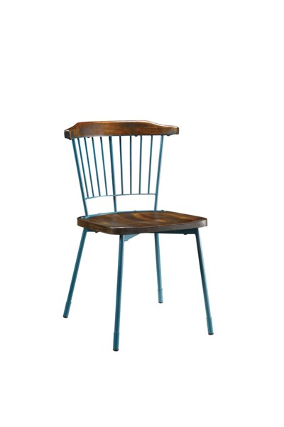 2 Acme Furniture Orien Teal Side Chairs ACM-71798