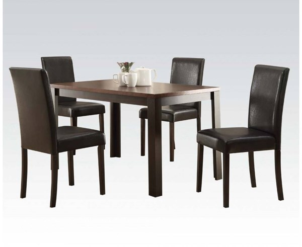 Acme Furniture Kylan Wood 5pc Dining Room Set ACM-71800