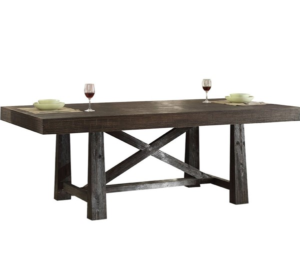 Acme Furniture Eliana Brown Dining Table ACM-71815