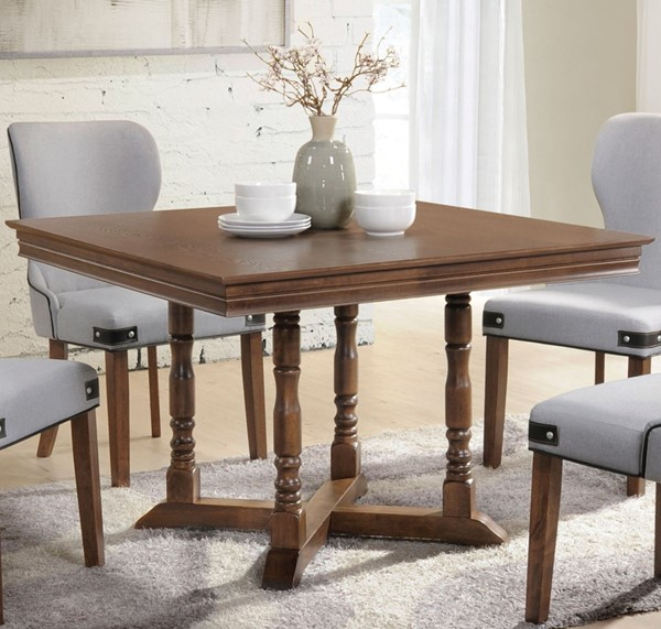 Acme Furniture Wilfried Walnut Dining Table ACM-71825