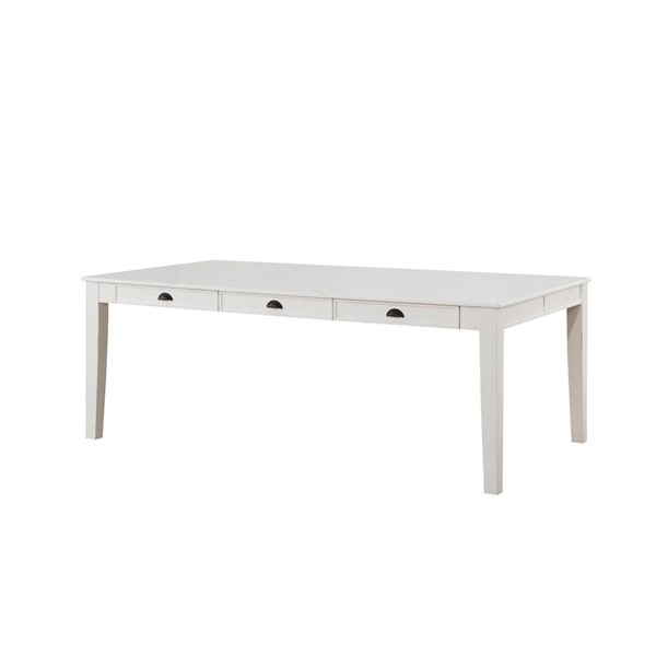 Acme Furniture Renske Antique White Dining Table ACM-71850