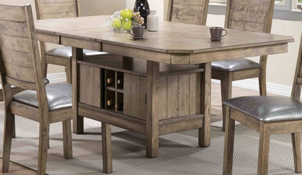 Ramona Rustic Oak Dining Table ACM-72000
