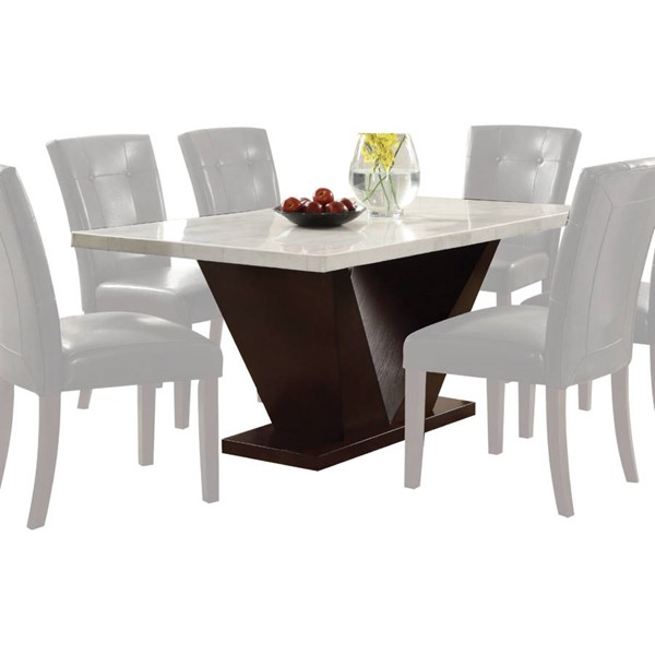 Acme Furniture Forbes White Dining Table ACM-72120