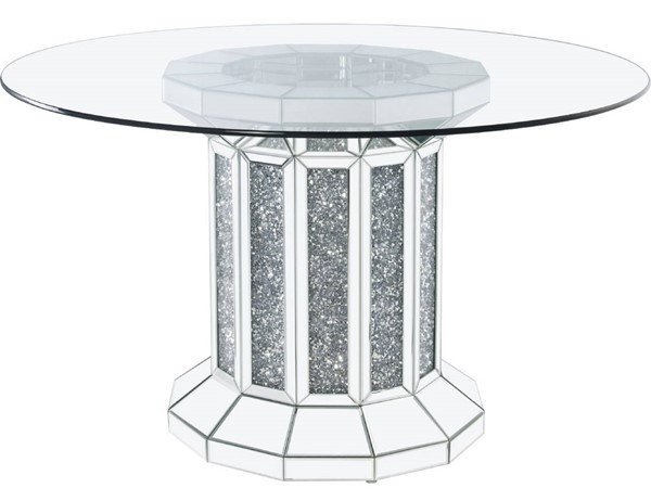 Acme Furniture Noralie Clear Glass Dining Table ACM-72140