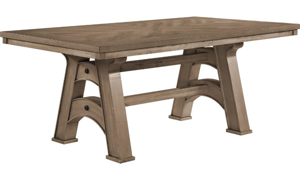 Acme Furniture Yashita Distress Oak Dining Table ACM-72370