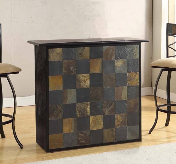 Acme Furniture Pansy Black Bar Table The Classy Home