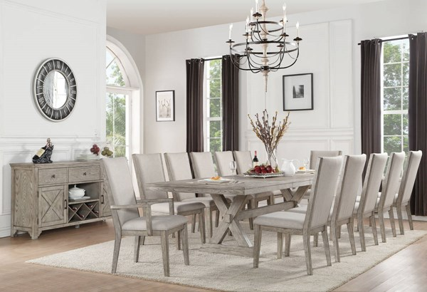 Acme Furniture Rocky 13pc Dining Room Set ACM-7286-DR-S1