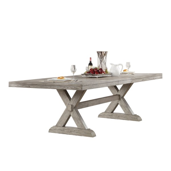 Acme Furniture Rocky Oak Dining Table ACM-72860