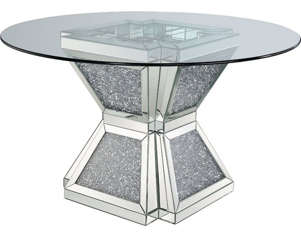 Acme Furniture Noralie Clear Dining Table ACM-72960