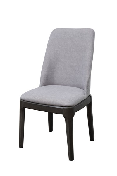 2 Acme Furniture Madan Gray Side Chairs ACM-73172