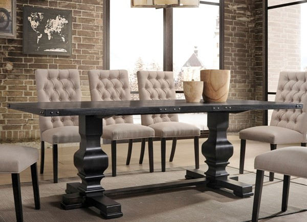 Acme Furniture Morland Black Dining Table ACM-74645