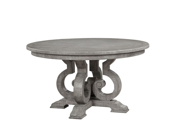 Acme Furniture Artesia Salvaged Natural Round Dining Table ACM-77085