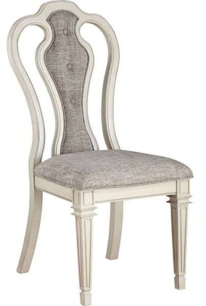 2 Acme Furniture Kayley Antique White Side Chairs ACM-77137