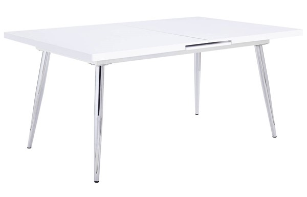 Acme Furniture Weizor White High Gloss Dining Table ACM-77150