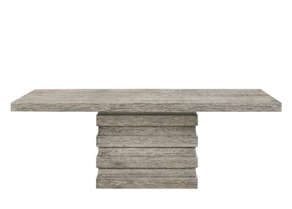 Acme Furniture Faustine Salvaged Light Oak Dining Table ACM-77185