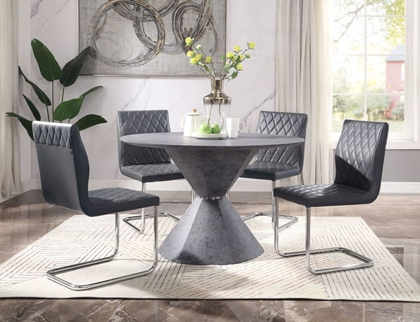 Acme Furniture Ansonia Gray 5pc Dining Room Set ACM-7783-DR-S1