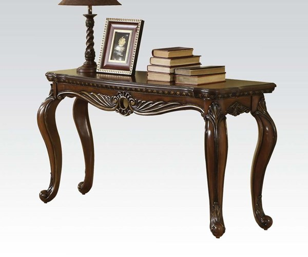 Remington Traditional Brown Cherry Wood Sofa Table ACM-80066