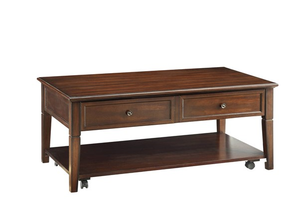 Acme Furniture Malachi Walnut Coffee Table with Lift Top ACM-80254