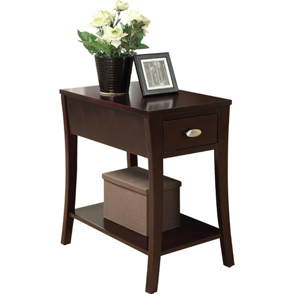 Acme Furniture Mansa Espresso Side Table ACM-80295
