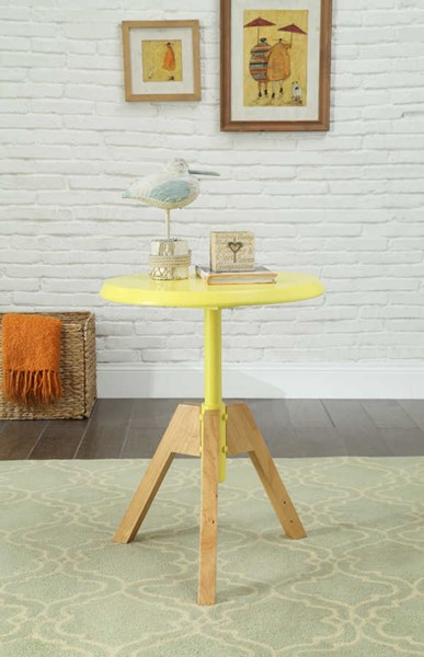 Acme Furniture Lumina Yellow End Table ACM-80337